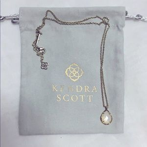 Kendra Scott White Mother of Pearl Necklace